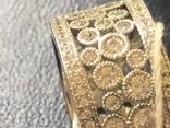 Кольцо. Серебро/золото. Новое, фото №5