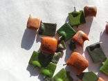 Зелёные 5 грамм оранжевые 6,2 грамма, фото №3
