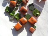 Зелёные 5 грамм оранжевые 6,2 грамма, фото №4