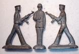 Оловянные солдатики 3 шт.