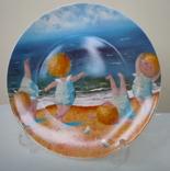 Тарелка декоративная Gapchinska Утренняя гимнастика 20 см фото 2