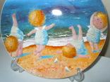 Тарелка декоративная Gapchinska Утренняя гимнастика 20 см фото 3