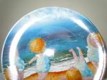Тарелка декоративная Gapchinska Утренняя гимнастика 20 см фото 4