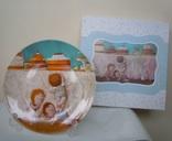 Тарелка фарфоровая декоративная Сладкая жизнь Gapchinska Lefard 20 см