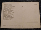 Открытка 32 стрекоза и муровей 1969, фото №3