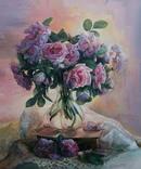 """""""Троянди"""" 60х70 см;полотно,олія, Півень С.В., фото №2"""