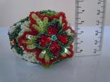 Браслет Цветок из бисера фото 5