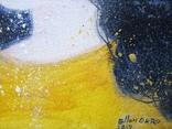 Картина «Космея». Художник Ellen ORRO. Холст на картоне/акрил, 25х30, 2018 г. фото 10