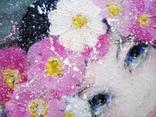 Картина «Космея». Художник Ellen ORRO. Холст на картоне/акрил, 25х30, 2018 г. фото 12