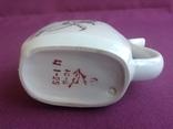 Кружка для минеральной воды Колокольчики. Фарфор, позолота., фото №7