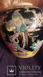 Старинная фарфоровая ваза Восток, фото №2