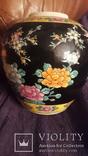 Старинная фарфоровая ваза Восток, фото №3