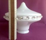 Плафон Султан. Двойное белое молочное стекло., фото №8
