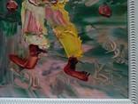 """""""Клоун"""" к.м., Кац Морис (Katz Morris) (1932-2010) (США) фото 3"""