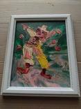 """""""Клоун"""" к.м., Кац Морис (Katz Morris) (1932-2010) (США) фото 7"""