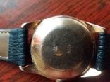 Золотые часы poljot de luxe 29 jewels shockproof 583 проба., фото №3