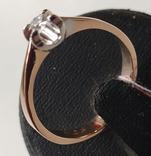 Кольцо, бриллианты кд007 фото 1