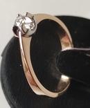 Кольцо, бриллианты кд007 фото 4