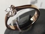 Кольцо, бриллианты кд007 фото 5