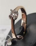 Кольцо, бриллианты кд007 фото 6