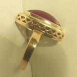 Кольцо перстень золото СССР звезда 583 проба 4,75 г