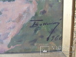 Нар. худ.СССР Бокшай Й.Й. (1891-1975) х.м. раз. 67х 87.5 см. 1960 г. Академик худ. СССР., фото №7