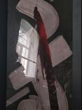 """""""Абстракция с красным"""" к.акрил. С.Боголюбов. фото 12"""