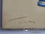 Сюжетная плитка кон. XIX нач. XX века. Майолика, фото №8