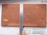 Сюжетная плитка кон. XIX нач. XX века. Майолика, фото №9