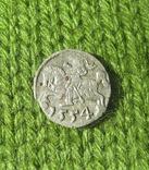 Денарій, 1554 рік, Сигізмунд II Август., фото №2
