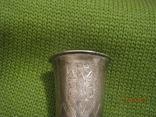 Срібна стопка. Клейма., фото №8