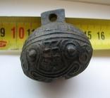 Колокольчик с иероглифами, фото №3