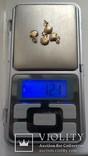 Золотые подвески от браслета., фото №5