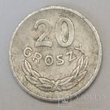 Польща 20 грошей, 1973