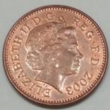 Велика Британія 1 пенні, 2003