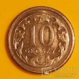 Польща 10 грошей, 2012