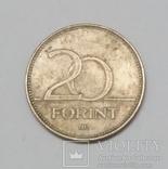Угорщина 20 форинтів, 1993