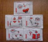 "Набір пакетиків з цукром "" Гусак"" - 5 шт. фото 1"