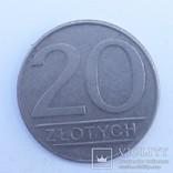 Польща 20 злотих, 1987