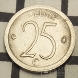 Бельгія 25 сантимів, 1970 фото 2