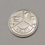 Бельгія 1 франк, 1989 фото 1
