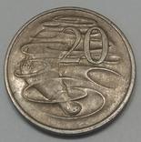 Австралія 20 центів, 1974
