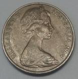 Австралія 20 центів, 1974 фото 2