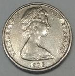 Нова Зеландія 5 центів, 1975 фото 2