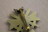 Рыцарский крест КВК 1-го класса смечами. Клеймо 1 (копия), фото №8