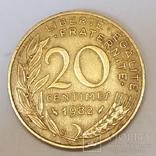 Франція 20 сантимів, 1982