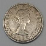 Велика Британія 1 шилінг, 1962 фото 2