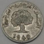 Туніс 5 мілімів, 1960 фото 2