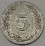 Туніс 5 мілімів, 1960