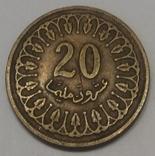 Туніс 20 мілімів, 1993 фото 1